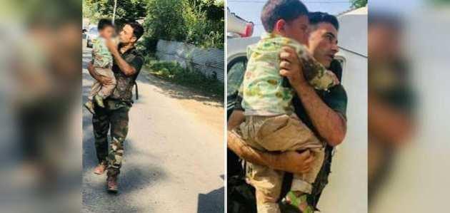 3 साल के मासूम की जान बचाने के लिए अपनी जान पर खेल गया यह भारतीय जवान, जाने कौन है ये वीर