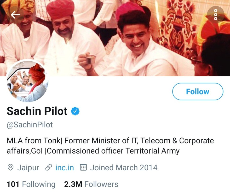 सचिन पायलट ने ट्वीट कर दिया बड़ा संकेत, राजस्थान की राजनीति में लाने वाले हैं भूचाल