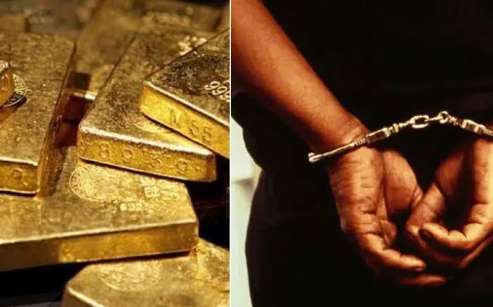जयपुर एयरपोर्ट पर 14 यात्रियों से जब्त किया गया 32 किलो सोना