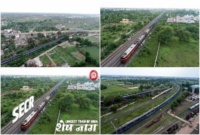 4 इंजनों की ताकत से दौड़ा भारतीय रेलवे का शेषनाग, पहली बार समय पर पहुंचीं ट्रेनें