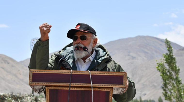 लद्दाख में गरजे प्रधानमंत्री नरेंद्र मोदी, विस्तारवाद का दौर खत्म हुआ अब विकास का दौर है