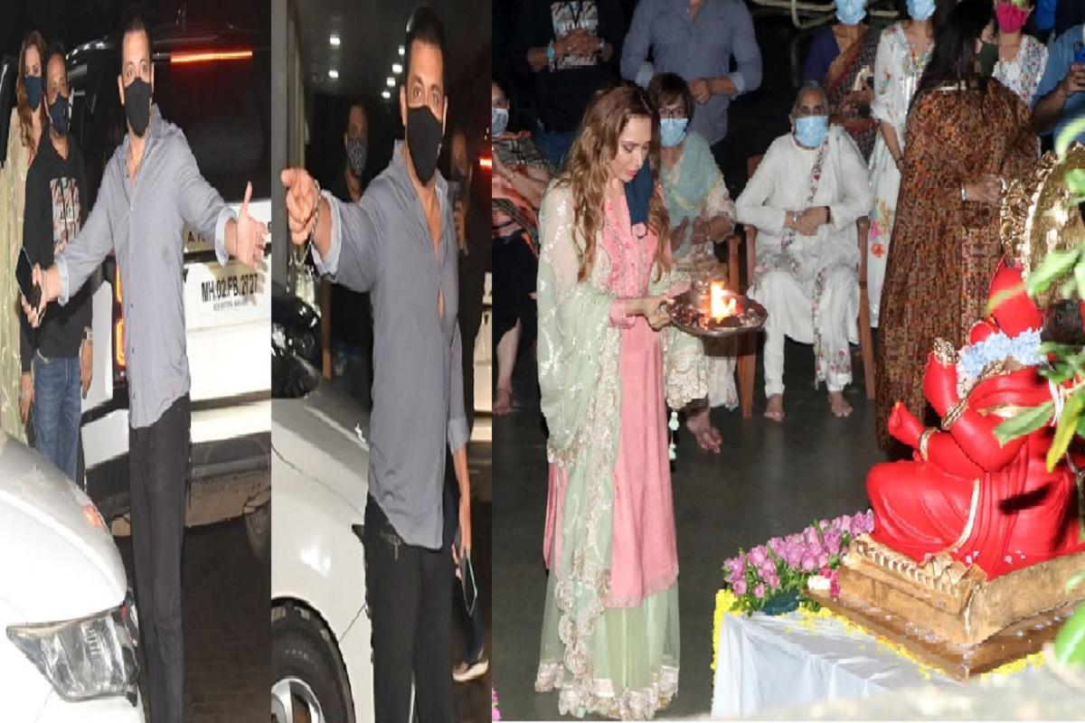 अर्पिता खान के गणपति विसर्जन पर फूटा सलमान खान का गुस्सा, बॉडीगार्ड शेरा से कहा....