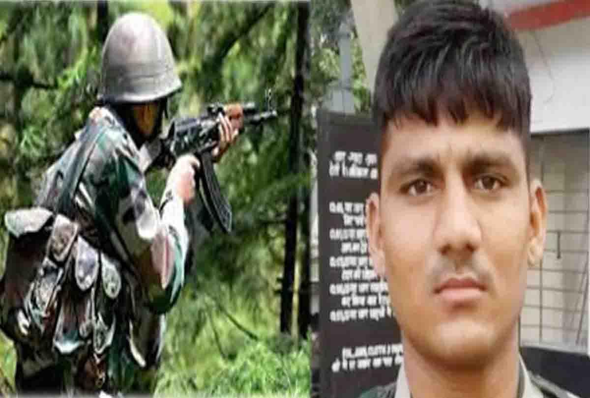 आतंकियों से मुठभेड़ में शहीद हुआ जौनपुर का लाल, जवाबी कार्रवाई में आतंकी भी ढेर