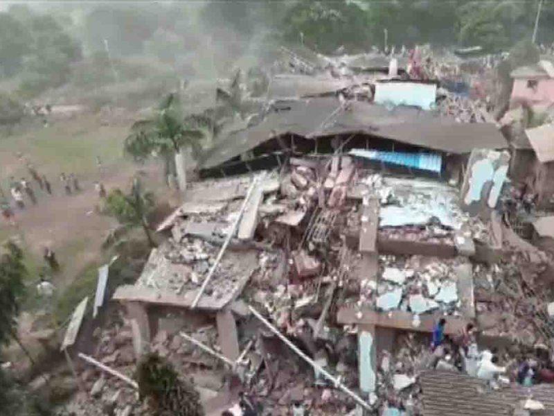 महाराष्ट्र के रायगढ़ में गिरी इमारत 25 घायल, 200 से ज्यादा लोग अभी भी हैं फंसे