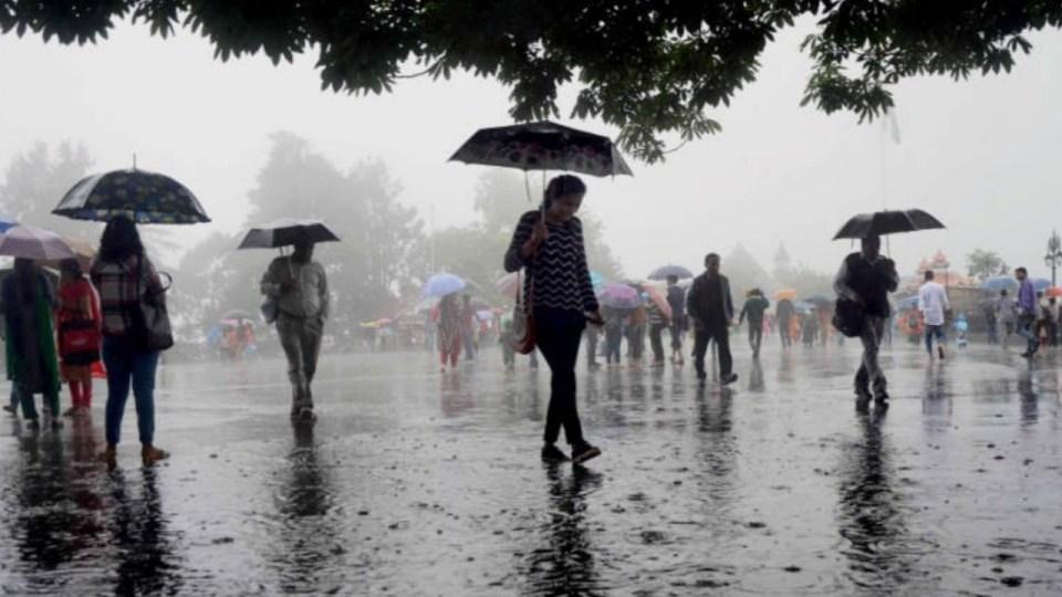 आज का मौसम : मौसम विभाग की चेतावनी, आज इन क्षेत्रों में होगी भारी बारिश