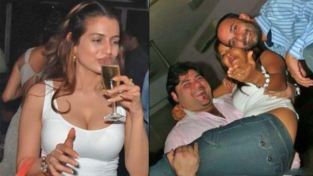 ameesha patel drunk jpg ड्रग्स की कहानी नशे में बॉलीवुड सितारों ने पार की सभी हदे!