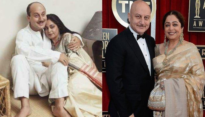 अनुपम खेर को पहले से शादीशुदा किरण से हुआ प्यार फिर हुई शादी