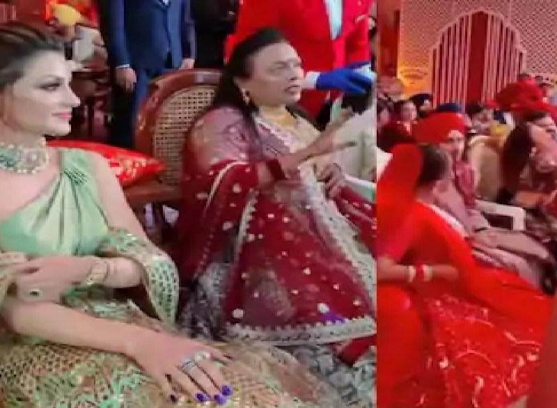 नेहुप्रीत की शादी में उर्वशी रौतेला ने कर दिया कुछ ऐसा नेहा की माँ ने लगा दिया सबके सामने फटकार