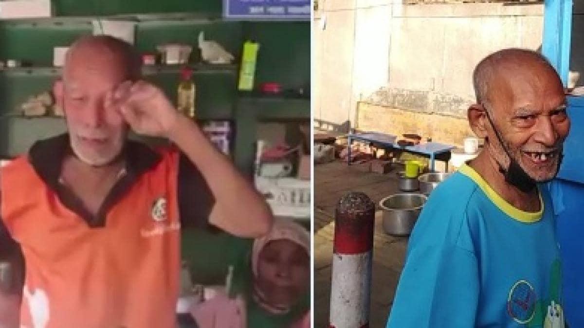 दिल्ली वालों ने दिखाया दिल &Quot;बाबा का ढाबा&Quot; पर लगी मटर पनीर खाने वालों की लम्बी लाइन
