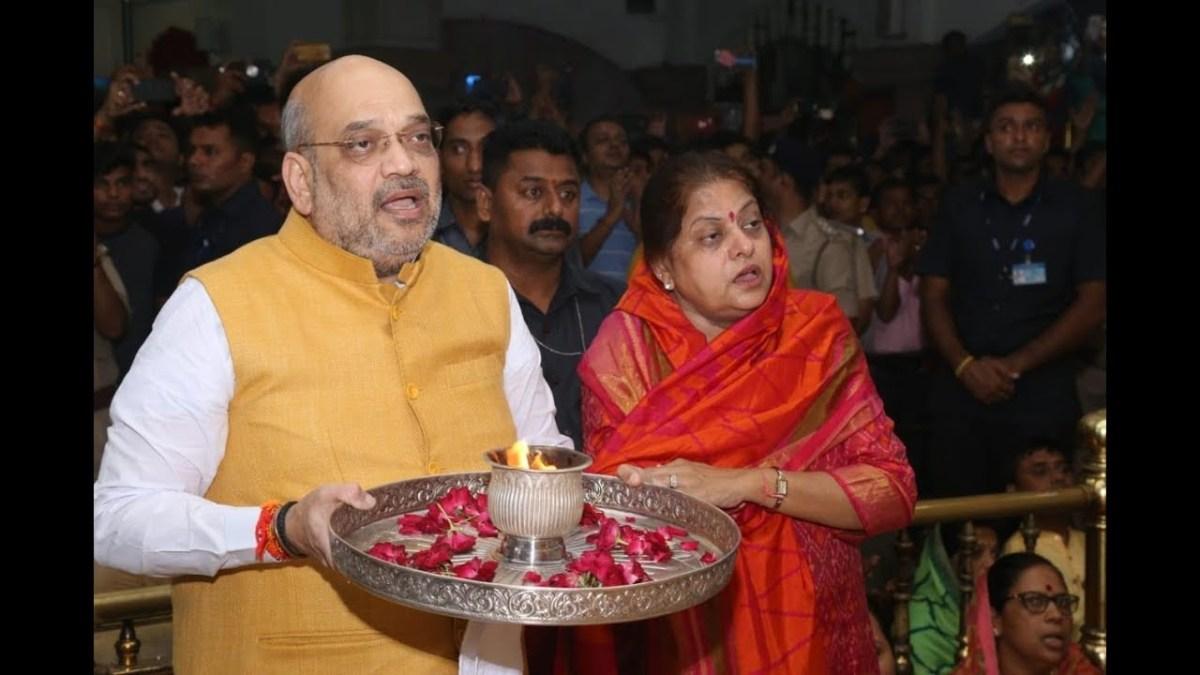 पत्नी की जिद्द के आगे झुके गृहमंत्री अमित शाह, काम से ले रहे हैं ब्रेक