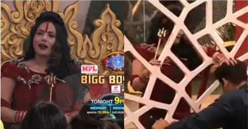 Big Boss 14: राधे माँ ने त्रिशूल के साथ किया डांस, सिद्धार्थ शुक्ला ने किया कुछ ऐसा सब रह गये हैरान