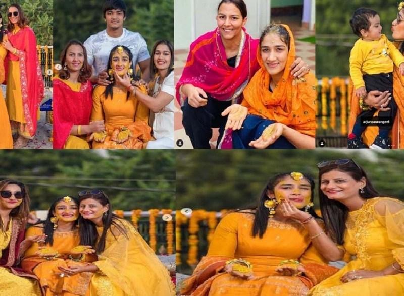बजरंग पुनिया ने संगीता फोगाट संग 8 फेरे लेकर किया शादी, दहेज़ में लिए सिर्फ 1 रूपये