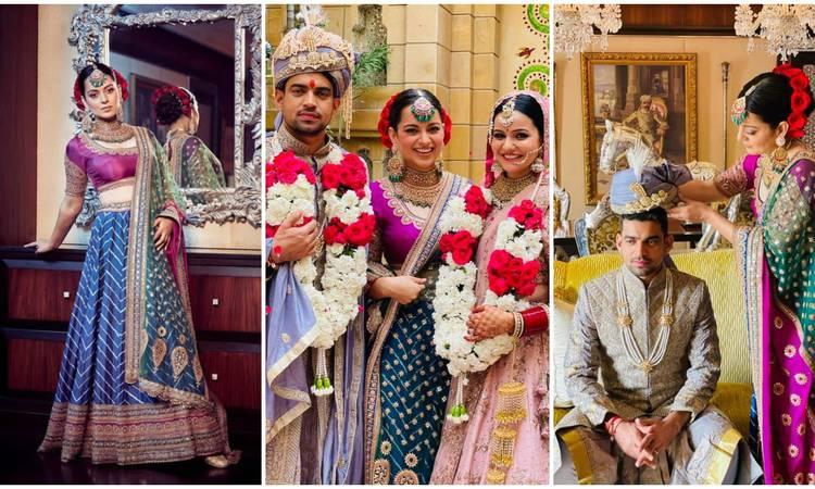 भाई की शादी में कंगना रनौत ने दिखाई रईसी जमकर लुटाए पैसे, पहना इतना महंगा लहंगा