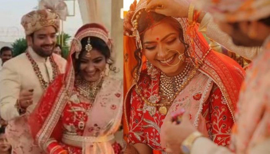 सुहानी सी एक लड़की' फेम राजश्री ने ऑनस्क्रीन भाई संग लिए 7 फेरे, देखिए तस्वीरें