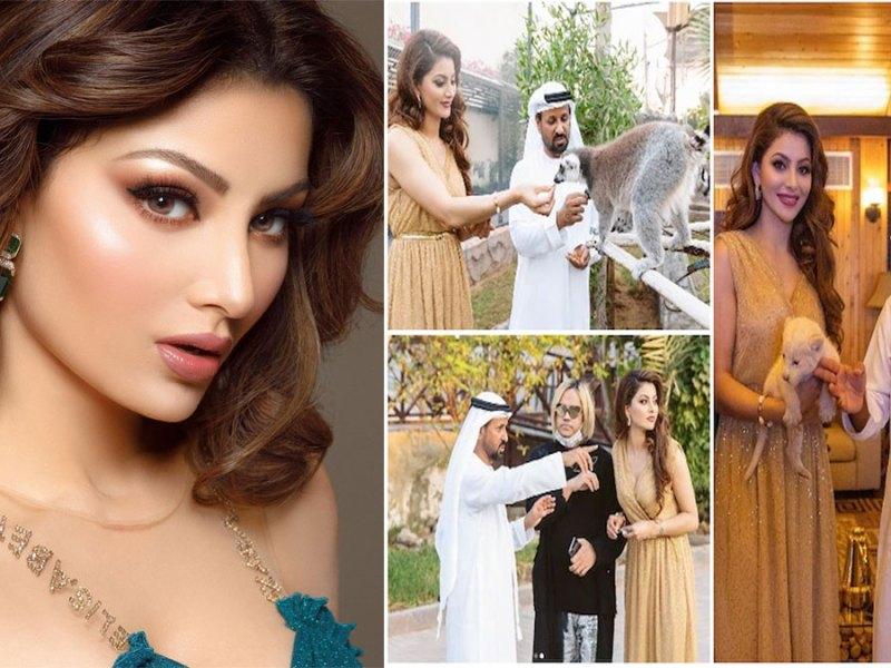एक्ट्रेस उर्वशी रौतेला इन दिनों दुबई में शेख अमीर के साथ छुट्टियां बिता रही हैं