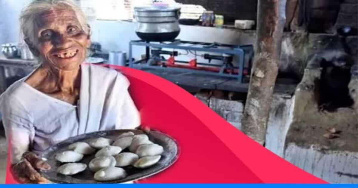 लॉकडाउन के समय भी नही झुकी बूढ़ी अम्मा, आज भी 1 रुपये में खिलाती हैं इडली-सांभर