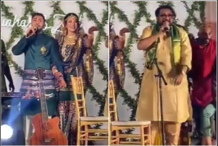 गौहर और ज़ैद के संगीत में इस्माइल दरबार ने  गाया ऐसा गाना कि लोगों ने किया ट्रोल, बोले- शादी है या तलाक!