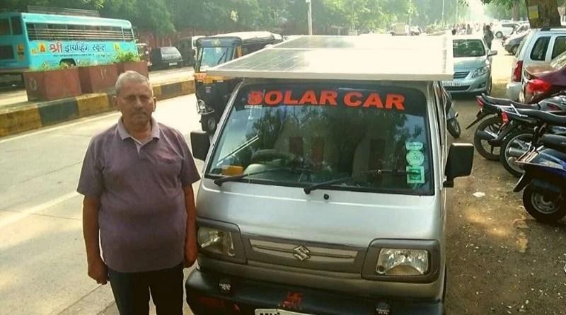 नागपुर के इस शख्स ने वैन को बनाया सोलर वैन, न पेट्रोल का खर्च और न प्रदुषण का खतरा