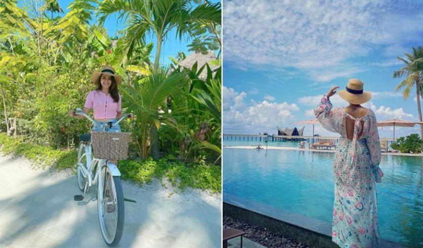 मालदीव ट्रिप में नागार्जुन की बहू ने पहनी इतनी कीमती बिकिनी, सुनकर उड़ जाएंगे होश