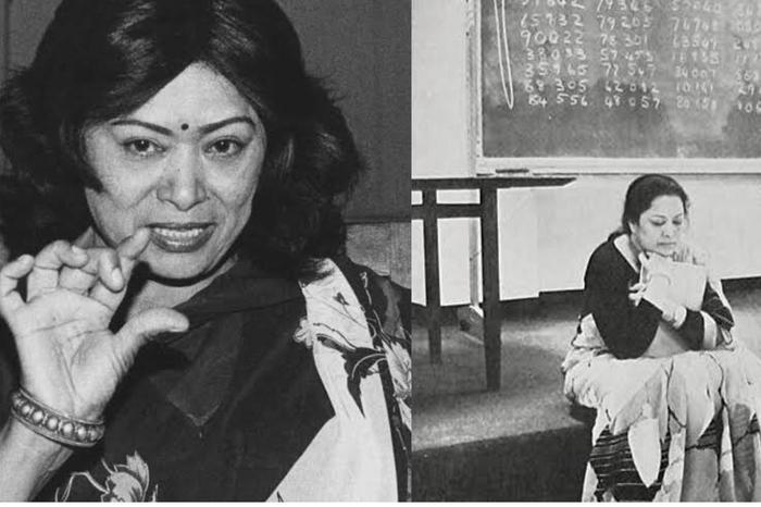 ह्युमन कंप्यूटर के नाम से मशहूर थी शकुंतला देवी, आइये जानते हैं उनके बारे में जाने अनजाने तथ्य
