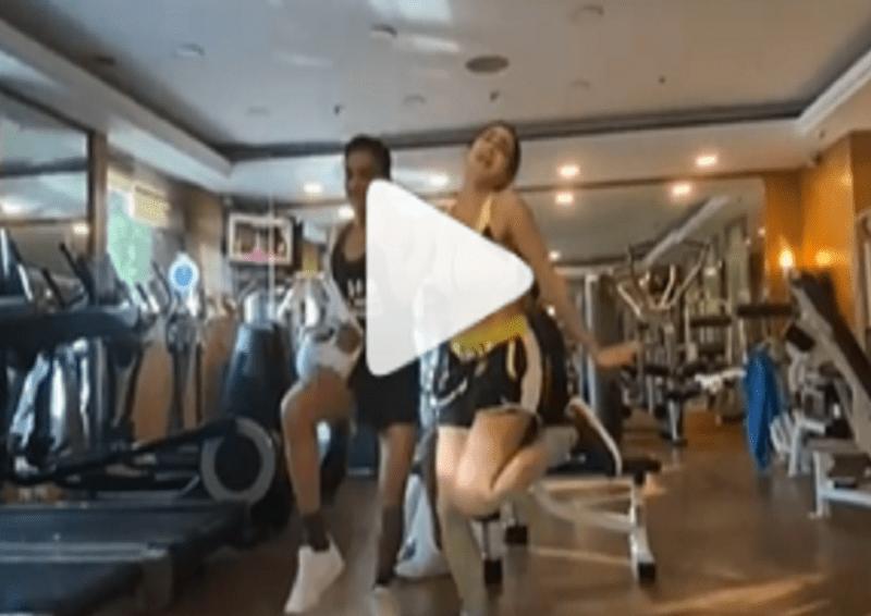जिम में वर्कआउट के दौरान अचानक डांस करने लगी सारा अली खान, वीडियो वायरल