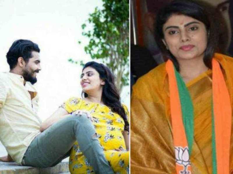रवींद्र जडेजा की पत्नी भी है ऑलराउंडर, बहन ने कराया था मुलाकात