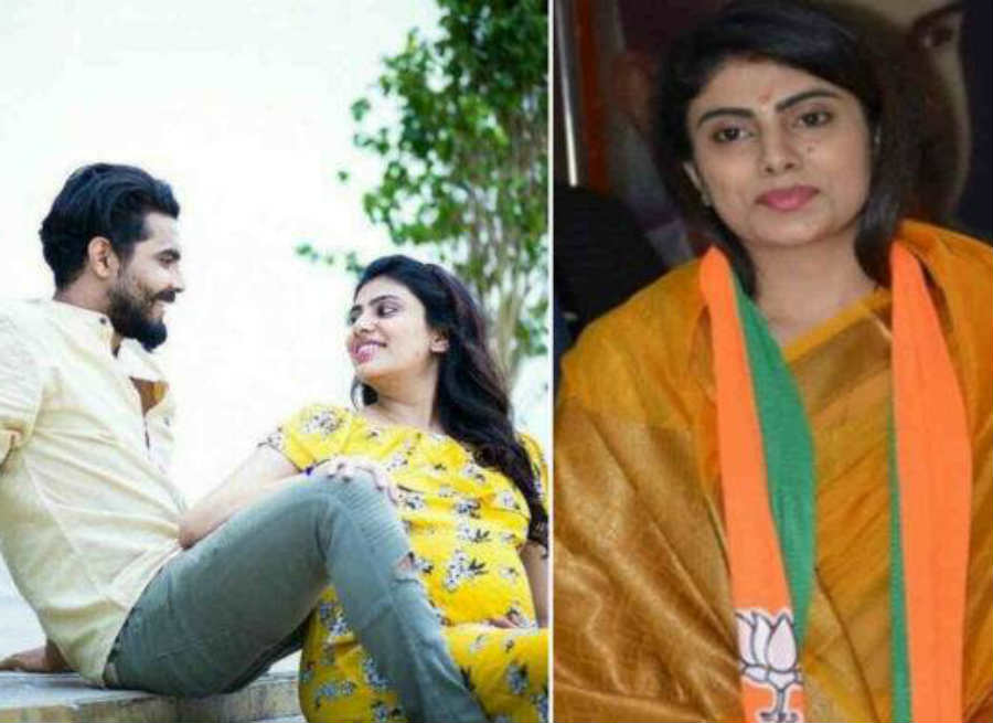 Ravindra Jadeja's wife is also an all-rounder, sister had met