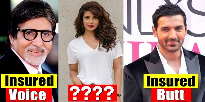 अमिताभ बच्चन से लेकर प्रियंका चोपड़ा तक इन सितारों ने कराया है अपने बॉडी पार्ट्स का इंश्योरेंस