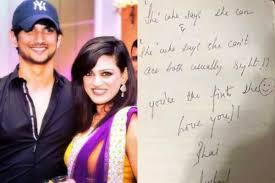 सुशांत की बहन ने शेयर किया वो नोट जिस पर एक्टर ने लिखा था गलत चीज में फंसने की बात