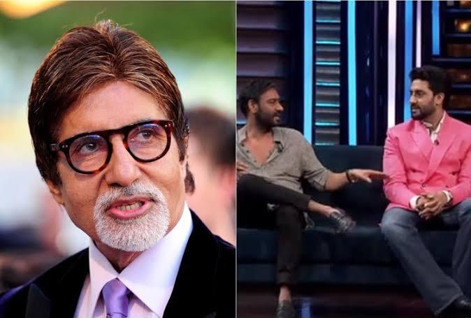 अभिषेक ने लगाया पिता अमिताभ बच्चन पर आरोप, अजय देवगन ने लगाई फटकार