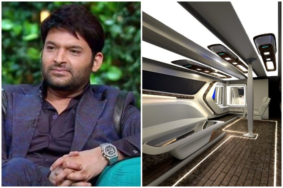 Kapil Sharma's vanity van is no less than a luxury house, see photos