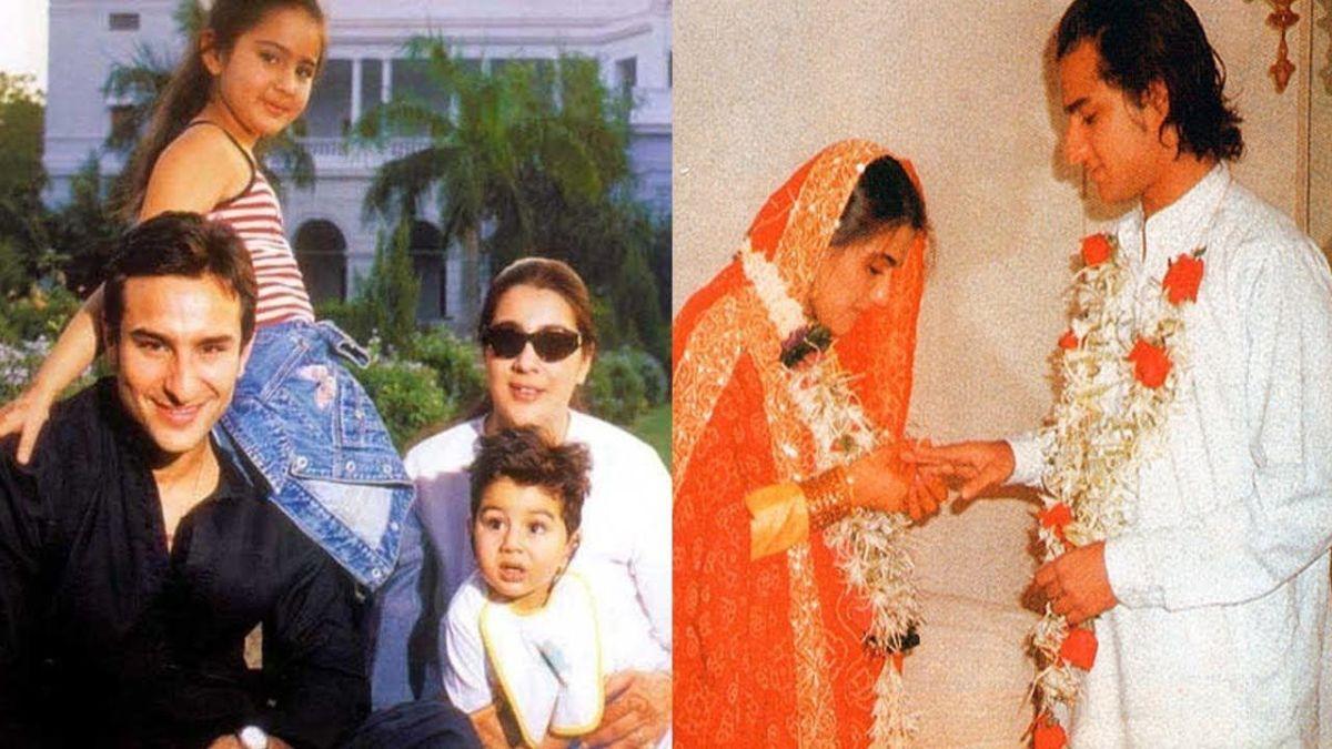इन 3 लोगों के प्यार में दीवानी थी सैफ अली खान की पत्नी अमृता सिंह
