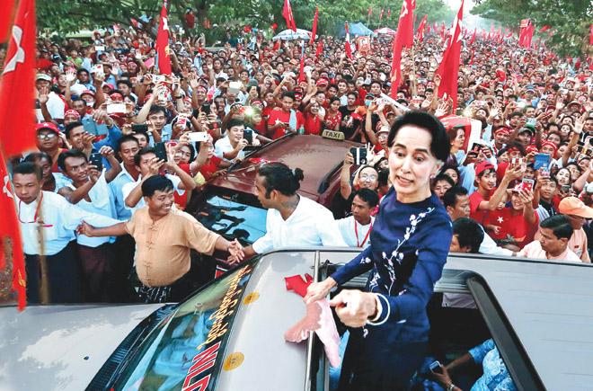 म्यांमार में सेना ने किया तख्तापलट, आंग सान सू ची गिरफ़्तार
