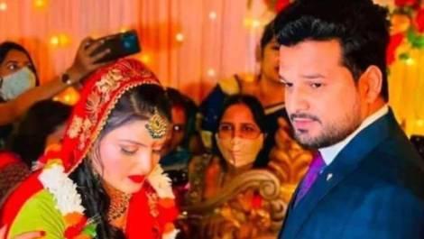 भोजपुरी स्टार रितेश पांडे ने रचाई शादी, खूबसूरती में एक्ट्रेस को भी मात दे रही है इनकी पत्नी- देखें Photos