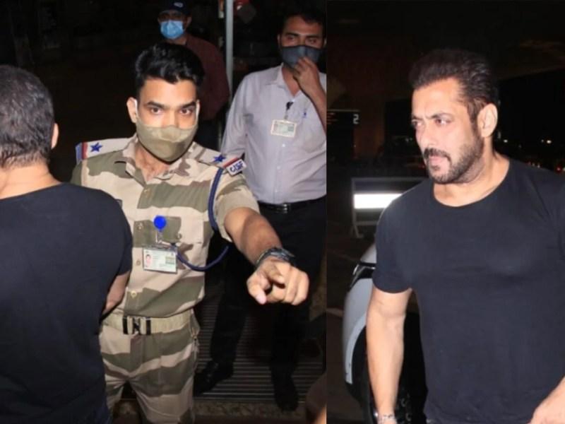 सलमान खान को एयरपोर्ट पर रोकने वाले जवान को इनाम मिला है सजा नहीं, Cisf ने बताई सच्चाई