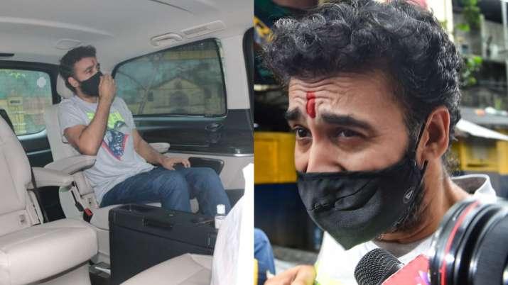 जेल से निकलने के बाद राज कुंद्रा की पहली तस्वीर आई सामने, देख लगेगा Shock