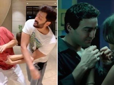 अयाज खान ने जेनेलिया डिसूजा को फिल्म के दौरान मारा था थप्पड़, अब रितेश देशमुख ने लिया बदला