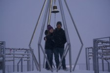 Ringing the bell as a couple for a wish of happiness :)
