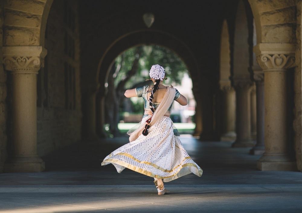 Greeting the Hindu way