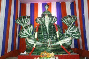 Kujadosha hara Ganapati idol