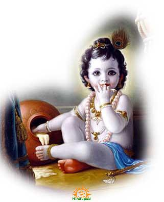 baby sri krishna photo