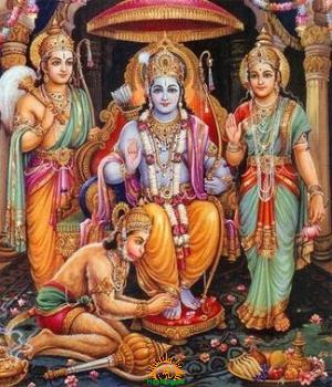 Lord Sri Rama Lakshmana Hanuman
