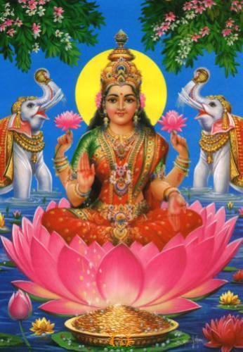 goddess gajalakshmi