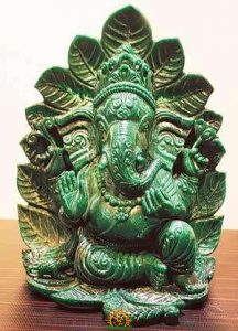 A Ganesh idol displayed in Vakratund Mela - Published in DNA Daily Newspaper