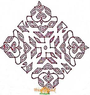 sankranthi rangoli with dots 10