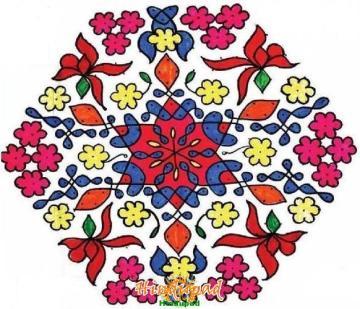 muggu rangoli design 193