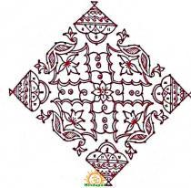 sankranthi rangoli with dots 8