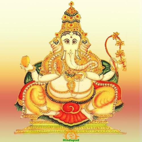 Bhakti Ganapati  – 2 of 32 Forms of Ganesha