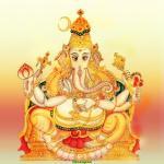 Kshipraprasada Ganapati, 20th Form of Ganesha