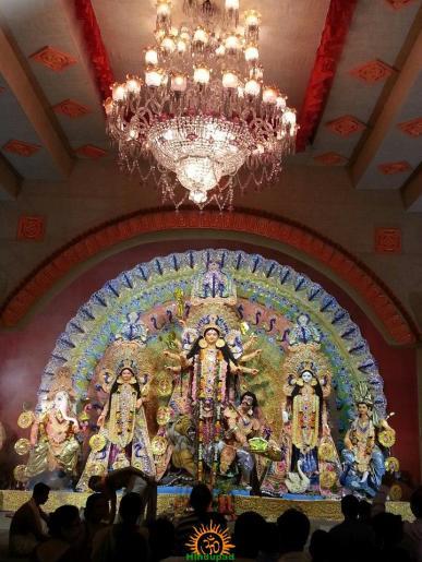 AB Block Durga Puja